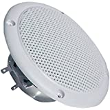 "Visaton VS-FR10WP/4 - Altavoces (10,16 cm (4""), 20W, 30W, 80 - 16000 Hz, 2 cm, Color blanco)"