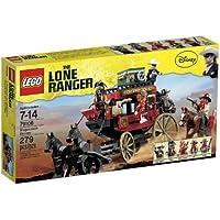 Lego The Lone Ranger 79108 - Fuga con la diligenza