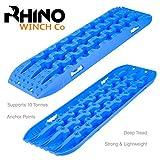 Rhino Tavola di Recupero 4x4 Fuori Strada Trazione Schede di Recupero Sabbia/Fango/Neve 10T x2 (Blu)
