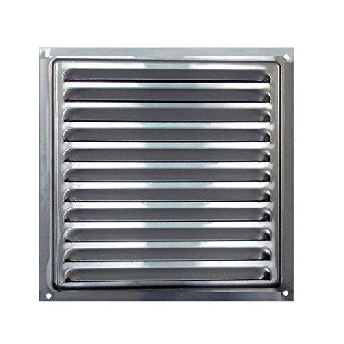 Air Vent Aluminium 20 x 20 cm, Aluminium Grill mit Insekten Net, Air Vent Aluminium, Aluminium Grill mit Insekten Net 20 x 20 cm - Grill-bildschirm