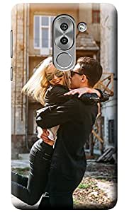 NAINZ Designer Printed Soft Silicone Back Case Cover For Huawei Honor 6X