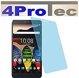 4ProTec 2 Stück GEHÄRTETE ANTIREFLEX Bildschirmschutzfolie für Lenovo Tab 3 7 Plus Displayschutzfolie Schutzhülle Bildschirmschutz Bildschirmfolie Folie