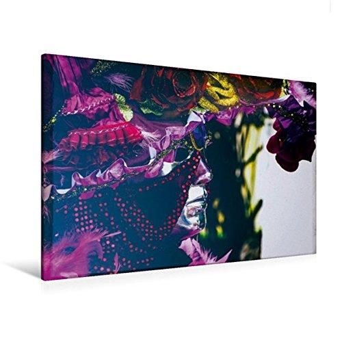 Premium Textil-Leinwand 120 cm x 80 cm quer, Der Orientale in pink | Wandbild, Bild auf Keilrahmen, Fertigbild auf echter Leinwand, (Kostümen 80 Menschen In)