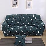 FGDJTYYJ Copridivano Addensare Allungare slipcovers 1/2/3 posti Protezioni Multifunzione Couch Cover Caratterizzato Morbido Modulo Fit Slip Resistente Copertura della Sedia, 001, 1 Seater:90-140cm