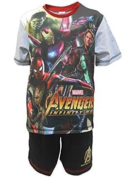 Marvel Avengers Infinifty War Heroes Pijama shortie niño