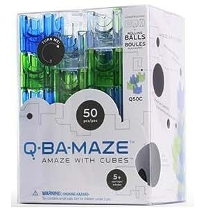 Q-BA-MAZE 50-Pack Cool Marble Run
