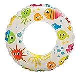 #2: Intex Lively Print Swim Rings - Aquarium, Multi Color