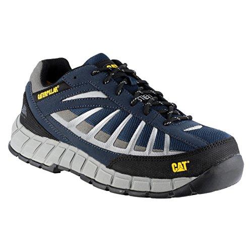 Caterpillar Infrastructure St S1p Hro Src, Cheville Chaussures de Sécurité Homme Bleu Marine