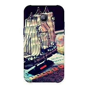 Special Travel ship Multicolor Back Case Cover for Galaxy J1