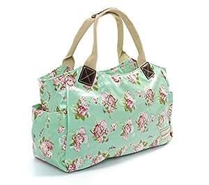 Forever England Martha Rose Floral Oilcloth Tote Bag