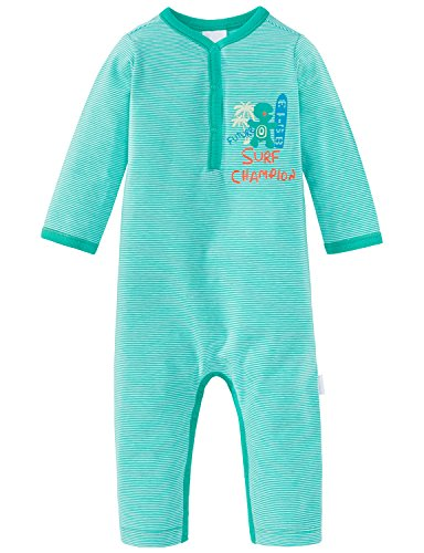 y Anzug ohne Fuß Zweiteiliger Schlafanzug, Grün 700, 92 ()