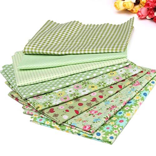 king-do-way-8-pz-tessuti-stampato-cotone-per-cucire-stoffa-a-metro-stoffa-per-patchwork-floreale-ver