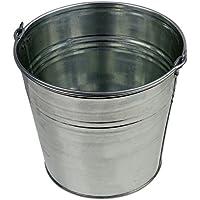 Zinkeimer Blecheimer verzinkt 10 Liter Wassereimer Metalleimer Eimer Dekoeimer (10 Liter)