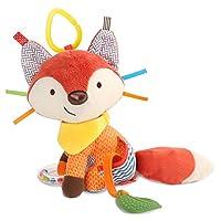 Skip Hop Bandana Buddies Multi Activity Toy (Fox) - Multi-Colour
