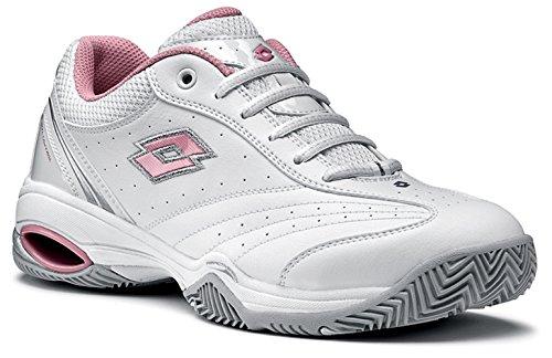 Lotto, Scarpe da tennis donna Bianco Weiss / Pink, (Weiß/Rose), 41