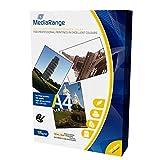 MediaRange A4 fotopapier voor inkjetprinters, hoogglanzend, 135 g, 100 vellen