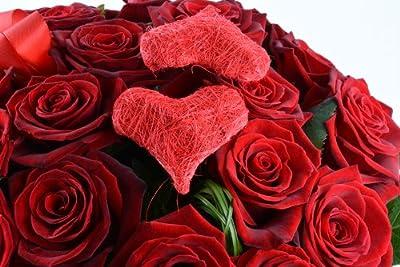 Blumenversand - Blumenstrauß - I Love You / Ich liebe Dich- mit 15 Rosen rot - mit Gratis - Grußkarte zum Wunschtermin verschicken von Der Renner - Blumenversand - Du und dein Garten