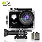 Action Kamera Actioncam sports cam, 4K WIFI Action cam 1080P/60fps 20MP, 2.4 G...