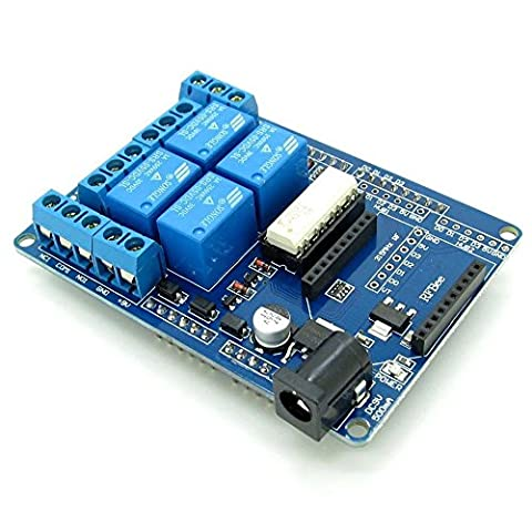 SUNLEPHANT@Four-way 5V relay expansion board Relay Shield V1.3