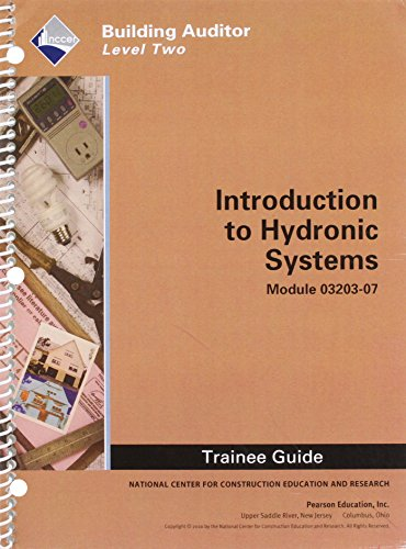 WEA 03203-07 Introduction to Hydronic Systems TG -