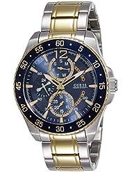 Guess Herren-Armbanduhr Analog Quarz Edelstahl W0797G1
