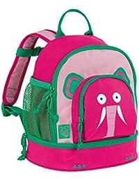 Preisvergleich für Lässig Mini Backpack Kindergartenrucksack mit Brustgurt Kindergartentasche Kita, Wildlife Elefant, Pink