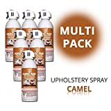 SimplySpray - Upholstery Spray Camel - Textilfarbe Braun (Multipack)