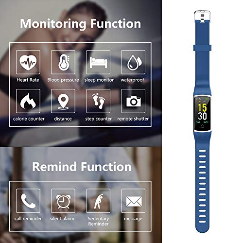 Zoom IMG-1 morefit orologio fitness tracker pressione