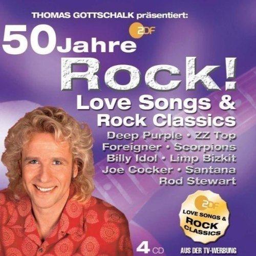 Preisvergleich Produktbild Thomas Gottschalk Präs.: 50 Jahre Rock-Love Song