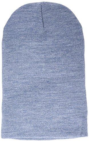 MSTRDS Beanie Basic Flap Long Version h.indigo