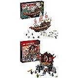 Lego Ninjago 70618 - Ninja-Flugsegler + Tempel der Auferstehung, Bauspielzeug