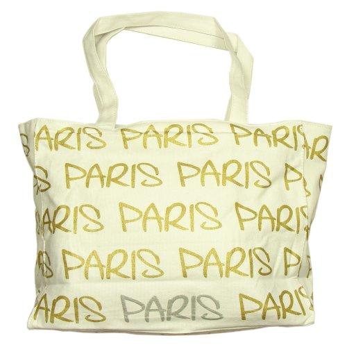 Robin Ruth - Sac Shopping Paris Robin Ruth - Couleur : Blanc