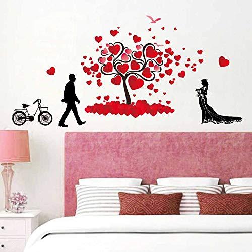 HFWYF Valentinstag Thema dekorative Nacht Plakat Neue heiße 48.7x91cm -