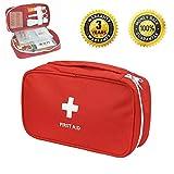 Kit de primeros auxilios de emergencia portátil de primeros auxilios / Bolso médico al aire libre del tratamiento | Casa | Oficina | Viajar | Cámping | Deporte |