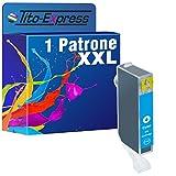 PlatinumSerie® 1 Druckerpatrone XL-Tinteninhalt mit Chip und Füllstandsanzeige für Canon CLI-526C (Cyan) Z.B. für Canon Pixma IP 4850 IX 6550 MG 5250 MG 6150 MG 8150 MG 6250 MG 8240 MG 8250 MX 715 MX 895 MX 885 MG 5340 MG 5350 IP 4950 MG 5150