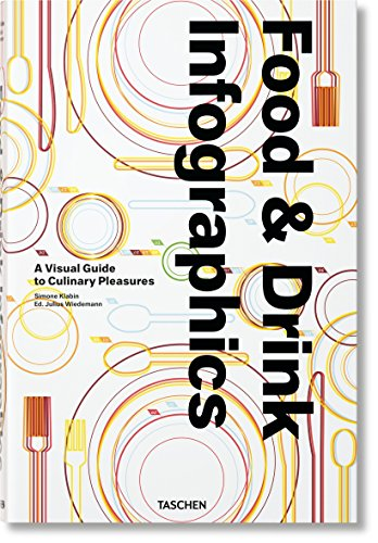 Food & Drink Infographics. A Visual Guide to Culinary Pleasures par Simone Klabin