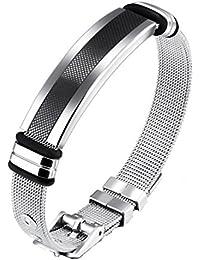 Yellow Chimes Western Style Stainless Steel Never Fading Designer Bracelet for Men & Boys