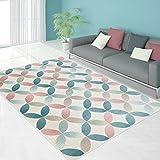Teppich Modern Designer Wohnzimmer Schlafzimmer Läufer Inspiration Net Pastell Multi Braun NEU, Größe in cm:200 x 290 cm;Farbe:Multi