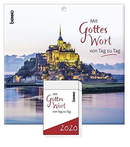 Mit Gottes Wort von Tag zu Tag 2020: Tagesabreißkalender