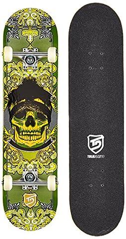 True Drive Skull Skateboard Vert