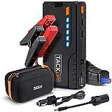 Jump Starter, Tacklife T6 Avviatore di Emergenza 16500 mAh, 600A per Auto Portatile, per Motori Benzina da 6,2L e Diesel da 2,5L, Porte USB da 5V/2A per Smartphone/Tablet/Fotocamera ecc