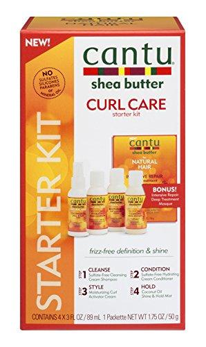 Cantu Shea Butter Natural Hair Curl Care 4-Piece Kit by Cantu - Curl Care