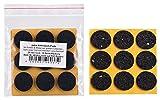 haggiy Antirutsch-Pad (Rutschhemmer für Möbel, Sofas, Tische) selbstklebend | Ø 28 mm (18 Stk.)