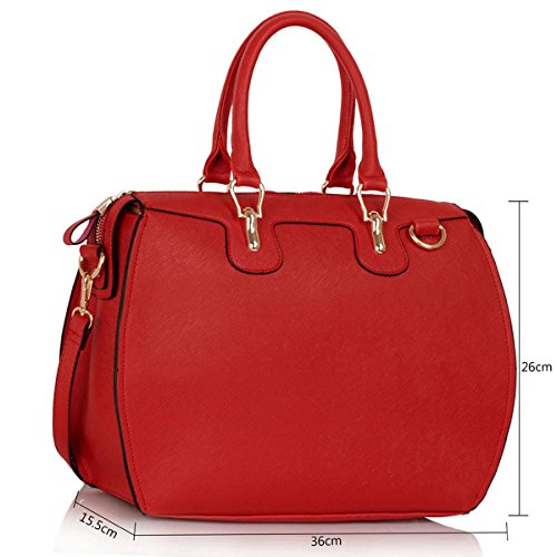 Xardi London, Borsa a mano donna medium Red