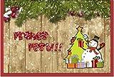 metalum Premium-Weihnachtskarte in tollen Farben mit ausgefallener, sehr filigraner, 2-dimensionaler Papierverzierung in Form eines kleinen Schneemannes - für gelunge Weihnachtsgrüße!