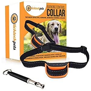 Aboiements chien Kit-éviter Collier pour chien aboie avec Smart et sifflet de dressage pour chien. Sans eBook?: Chien Formation fiable aboiements Chiens. Pour les débutants.
