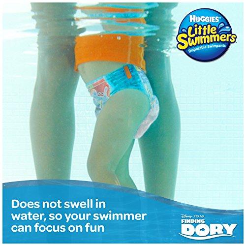 Huggies 12 Little Swimmers – Schwimmwindeln, 2er Pack (2 x 12 Stück) - 5