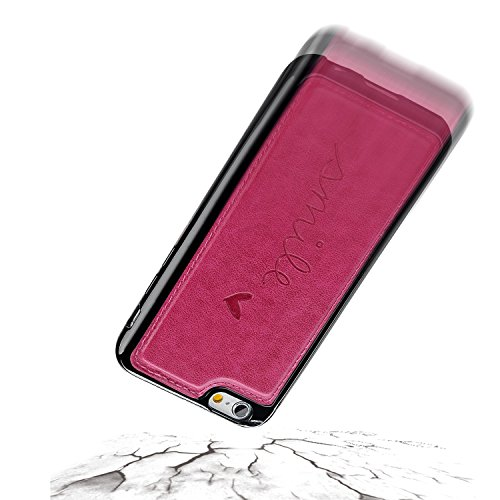 iPhone 6s Plus Hülle, iPhone 6 Plus Hülle, Vandot Tarnung Camouflage Flip Case Cover für iPhone 6s Plus / 6 Plus Lederhülle PU Leder Armee Army Rüstung Verteidiger Passgenaues Telefonkasten Handyhülle Abnehmbare Rosa