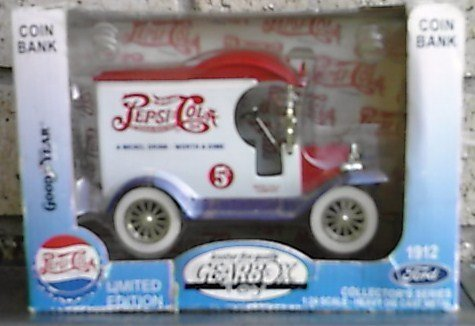pepsi-cola-limited-edition-1912-ford-1-24-coin-bank-gearbox-toy-die-cast-metal