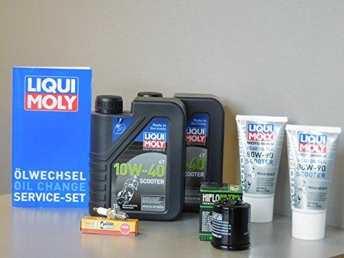 MotorFunSports Manutenzione Set PIAGGIO X7300Olio Filtro olio candela di accensione servizio ispezione cambio olio